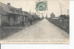 SAINT MARTIN EN CAMPAGNE   Lieu De L'accident 1907 CIRCUIT DE LA SEINE INFERIEURE - France