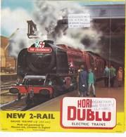 Revue Dépliant HORNBY DUBLO Electric Trains - Crafts