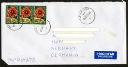Rumänien 2013 Drucksache/ Printed Matter/ Imprimes  Europa ,  MiNr. 6672 (3)  Mohn - Cartas