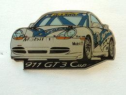 Pin's PORSCHE 911 GT3 CUP - PIRELLI - MOBIL - Porsche