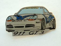 Pin's PORSCHE 911 GT3  - PIRELLI - MOBIL - Porsche