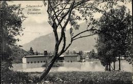 Cp Garmisch Partenkirchen In Oberbayern, Schwimmbad Im Oberen Kainzensee - Andere