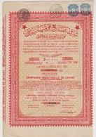SMYRNE OTTOMAN ,TURKEY 1924 BOND - Shareholdings
