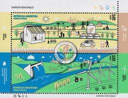 Argentina - 2018 - Renewable Energy - Mint Souvenir Sheet - Ungebraucht