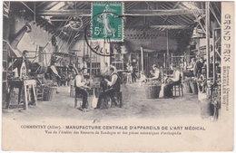 03. COMMENTRY. Manufacture Centrale D'Appareils De L'Art Médical. Vue De L'Atelier Des Ressorts De Bandages... - Commentry