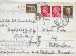 AK 0405  Postkarte Von Fuculle ( Italien ) Nach Möllbrücken ( Kärnten ) Um 1934 - 1900-44 Vittorio Emanuele III