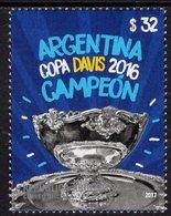 Argentina - 2017 - Argentina - Davis Cup Winner - Mint Stamp - Ungebraucht