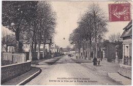 02. VILLERS-COTTERETS. Entrée De La Ville Par La Route De Soissons - Villers Cotterets