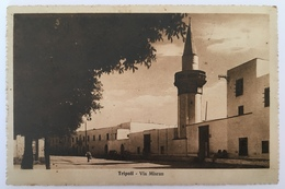 V 57039 Libia - Tripoli - Via Misram - Libia