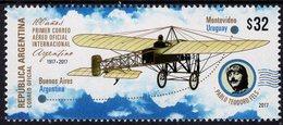 Argentina - 2017 - Centenary Of First International Airmail Link - Mint Stamp - Ungebraucht