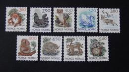 Norway - 1988-91 - Mi:NO 986-7,1009-11,1038-9,1059-60**MNH - Look Scan - Norwegen