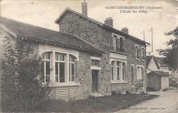 CPA 08 SAINT GERMAINMONT L'Ecole Des Filles - Otros Municipios