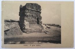 V 57030 Libia - Lebda - Il Gran Rudero ( 1912 ) - Libia