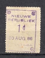 Zuid Afrika , Nieuwe Republiek, 30-8-1886 Mi Nr 1 - Sud Africa (...-1961)