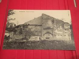 CPA Vers 1900 Fresnoy Parnoy En Bassigny L'Abbaye De Morimond  Ruines Du Cloitre, Petite Animation - Bourbonne Les Bains
