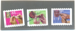 2001 CANADA Y & T N° 1908 - 1909 - 1910 ( O ) Les 3 Timbres - 1952-.... Règne D'Elizabeth II