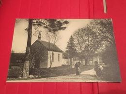CPA Vers 1900 Fresnoy Parnoy En Bassigny L'Abbaye De Morimond La Chapelle Extérieure Avec Vosgienne Et Ombrelle - Bourbonne Les Bains