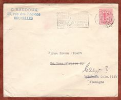 Brief, Heraldischer Loewe, Bruessel Nach Calw 1959 (89566) - Briefe U. Dokumente