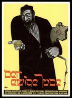 3rd Reich 1937 Eternal Jew Der Ewige Jude Anti-Semitic Munich Propaganda U 90642 - Ansichtskarten