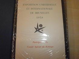 Album Photos EXPO UNIVERSELLE ET INTERNATIONALE DE BRUXELLES 1958 CONGO ET RUANDA-URUNDI - Identifizierten Personen