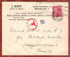 Vordruckbrief, Koenig Leopold, St Joost-Ten-Noode Nach Wien, OKW-Zensur 1944 (89570) - 1934-1935 Leopold III.