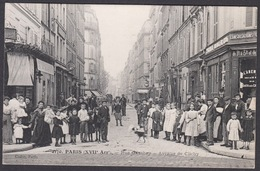 CPA 75 -  PARIS, Rue Gauthey - Avenue De Clichy - Arrondissement: 17
