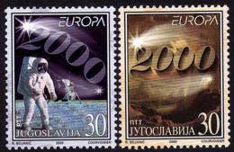 Yougoslavie - Europa CEPT 2000 - Yvert Nr. 2822/2823 - Michel Nr. 2975/2976  ** - 2000