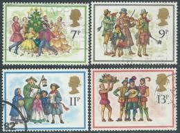 1978 GRAN BRETAGNA USATO NATALE I CANTI DI NATALE - RC7-3 - 1952-.... (Elisabetta II)