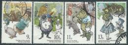 1979 GRAN BRETAGNA USATO ANNO DEL FANCIULLO LIBRI DI FAVOLE - RC7-3 - 1952-.... (Elisabetta II)