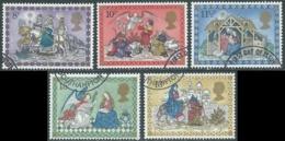1979 GRAN BRETAGNA USATO NATALE - RC7-5 - 1952-.... (Elisabetta II)