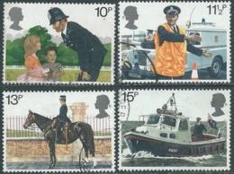 1979 GRAN BRETAGNA USATO POLIZIA DI LONDRA - RC7-5 - 1952-.... (Elisabetta II)