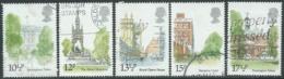 1980 GRAN BRETAGNA USATO EDIFICI STORICI DI LONDRA - RC7-5 - 1952-.... (Elisabetta II)