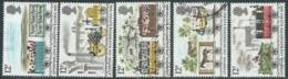 1980 GRAN BRETAGNA USATO FERROVIA LIVERPOOL MANCHESTER - RC7-4 - 1952-.... (Elisabetta II)