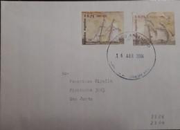 O) 2004 ARGENTINA, FRAGATAS - SHIPS. TO SAN JUSTO, XF - Storia Postale