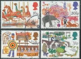 1983 GRAN BRETAGNA USATO FIERA DI SAN BARTOLOMEO A SMITHFIELD - RC7-8 - Used Stamps