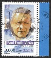 FRANCE  2000 -  Y&T  3345-   Paul-Émile Victor -  Oblitéré - France