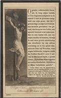 DP. IRENA MISSEGHERS ° SAFFELAERE 1862- + WYNKEL-ST-KRUIS 1927 - Religion & Esotérisme