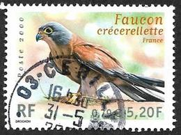 FRANCE  2000 -  Y&T  3361 -   Faucon Cfecerelle -   Oblitéré - France