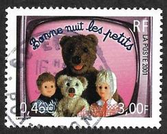 FRANCE  2001  -  Y&T 3372   -  Bonne Nuit Les Petits   - Oblitéré - France