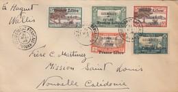 LETTRE WALLIS & FUTUNA (Avec N° 119b ) FRANCE-LIBRE POUR NOUMEA - Wallis Y Futuna
