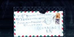 1192 Mista X Estero Lire 130 Michelangiolesca Lire 100 E Siracusana N.f. Lire 30 Curacao - 1961-70: Storia Postale