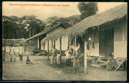 AFRIQUE - CPA - MAISON SARGOS A MINDOU , PLANTATION DE CACAO - TB - NEUVE - Zentralafrik. Republik
