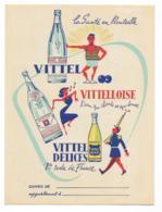 Ancien Protége Cahier Vittel - Buvards, Protège-cahiers Illustrés