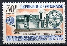 1965Gabon221100 Years Of UIT - Gabon (1960-...)