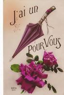 LOT//061....12 CPA ILLUSTRATIONS SUR LE PARAPLUIE - Postales
