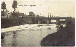 Vive St Eloi - Sint-Eloois-Vijve - Waregem - Barrage - Leiezicht  - Carte Photo - Fotokaart - Waregem