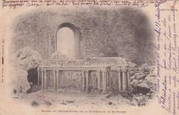 Martinique, Ruines Du Maître Autel De La Cathédrale De Saint Pierre - Other