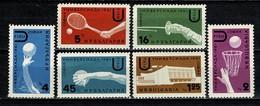 Bulg. 1961 Yv 1068/73** MNH  Cat. Yv € 5,50 - Bulgaria