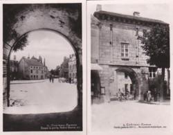 283337Chateau Chinon, Vieille Porte Avec Hotel Du Lion – Sous La Porte Notre Dame Avec Hotel De La Poste (2 Cartes)(vo - Chateau Chinon