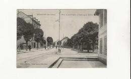 HERICOURT PLACE ANATOLE FRANCE ET FAUBOURG DE BELFORT - Francia
